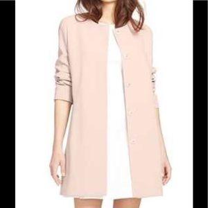 New Ralph Lauren , Coats  Collarless Crepe Topper